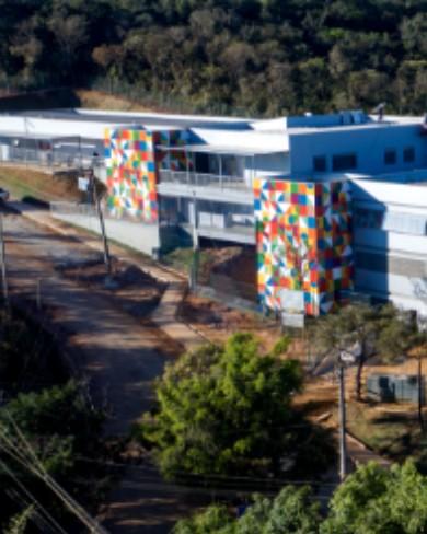 Escola Municipal Rubem Costa Lima – VALE: Sistema de climatização e exaustão